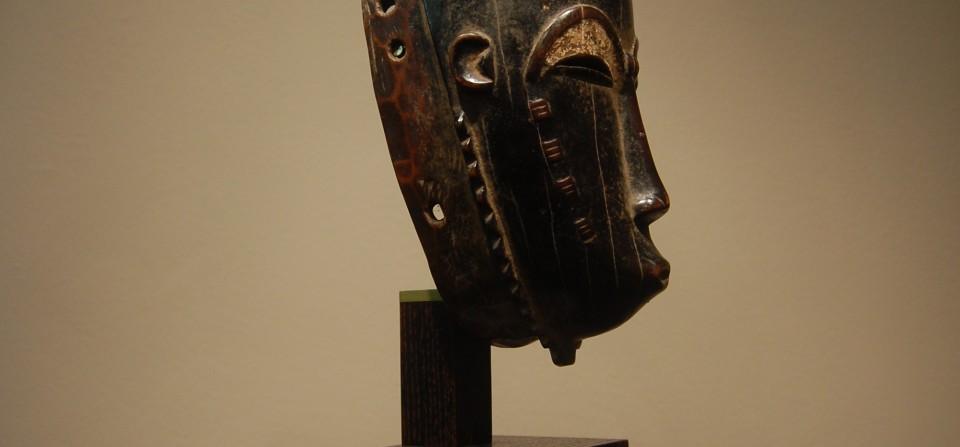 Masque Baoulé, fin du 20eme, Cote d'Ivoire